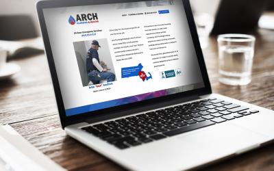Arch Plumbing & Heating WordPress Web Design