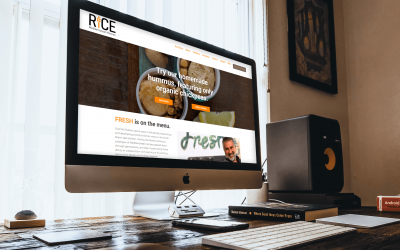 RICE Kitchen WordPress Redesign